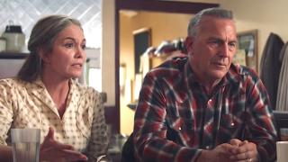 """Diane Lane and Kevin Costner star in """"Let Him Go.'"""