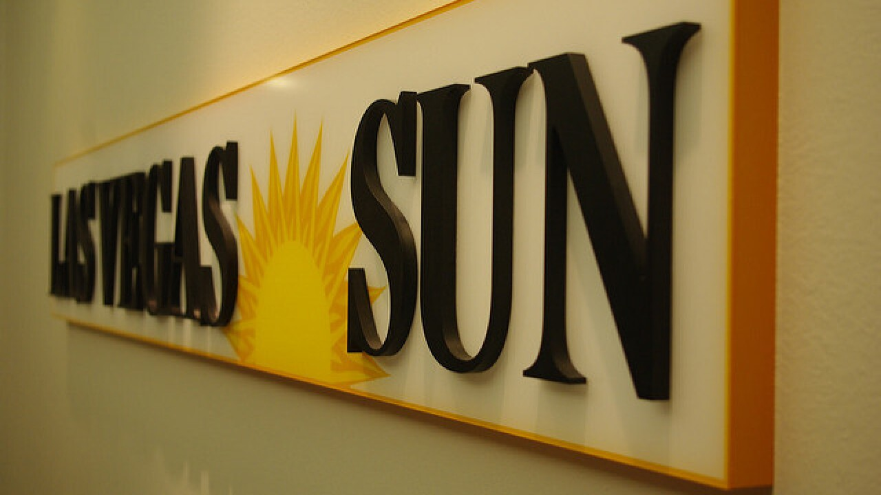 Las Vegas Sun website to charge readers monthly subscription