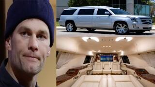 Tom Brady selling Cadillac Escalade ESV