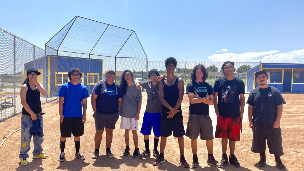 Chavez Huerta Preparatory Academy borrows their softball field from the nearby church, but say they are in the process of buying the land.