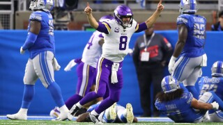 As Cook thrives, Vikings turn strong-arm strategy to Lions