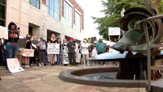 clarksville protest