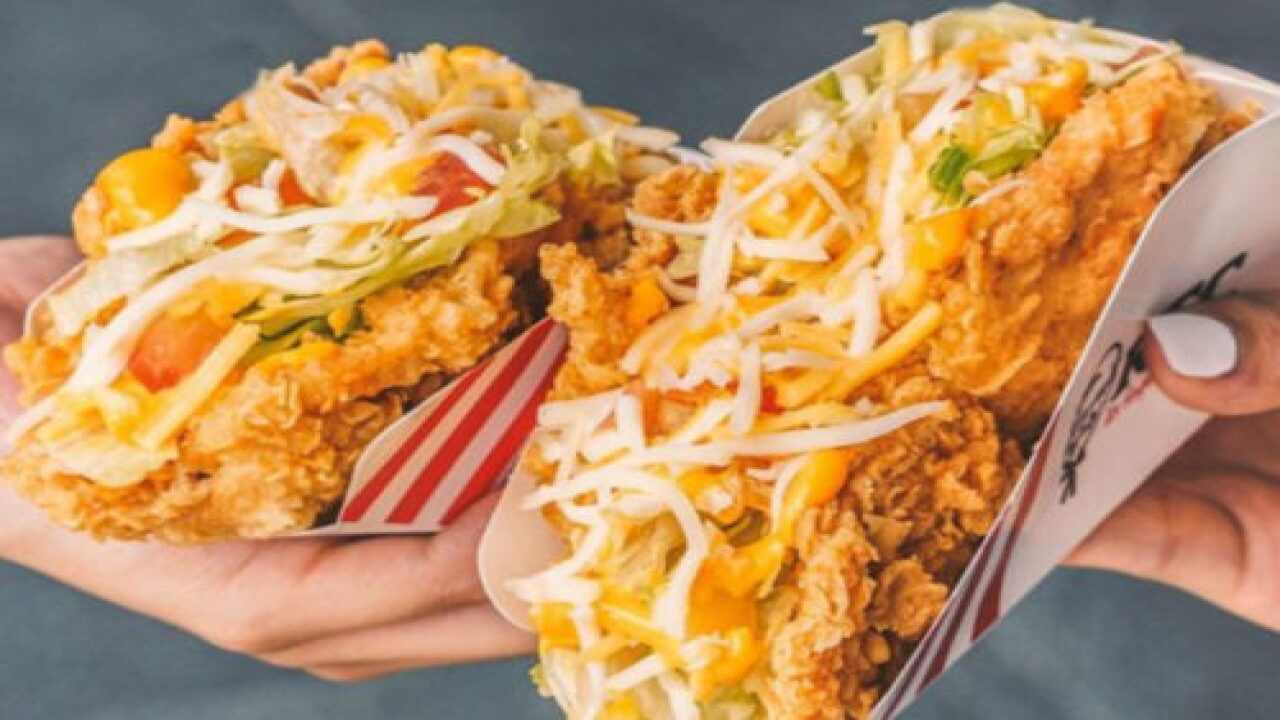 KFC Is Making Tacos With Fried-chicken 'shells' In At Least 1 City