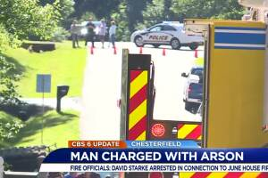 Man charged with arson
