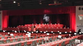 View of the state at the La Salle High School athletics at the 35th annual sports stag