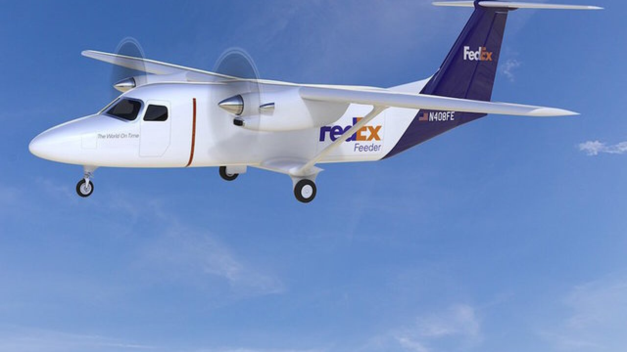 FedEx is buying up to 100 new flying delivery trucks