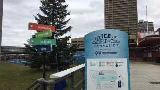 We now know when the ice at Canalside will be open for skating