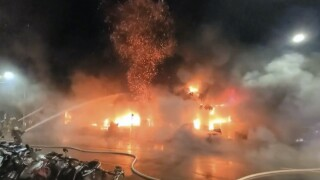 Taiwan Apartment Building Fire