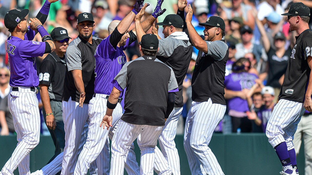 Iannetta brings in winning run on walk, Rox beat Dodgers 4-3