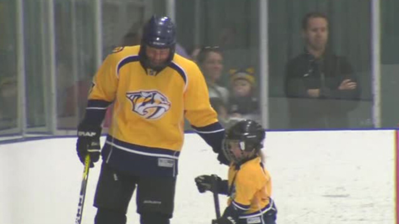 Dierks Bentley & Son Skate With Peds