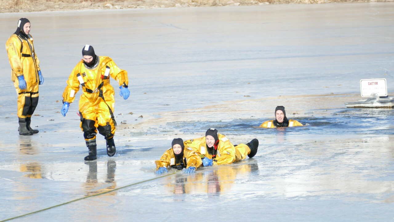Colorado Springs Fire Department Dog Rescue