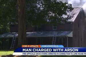 Man accused of setting house ablaze charged in other arson cases