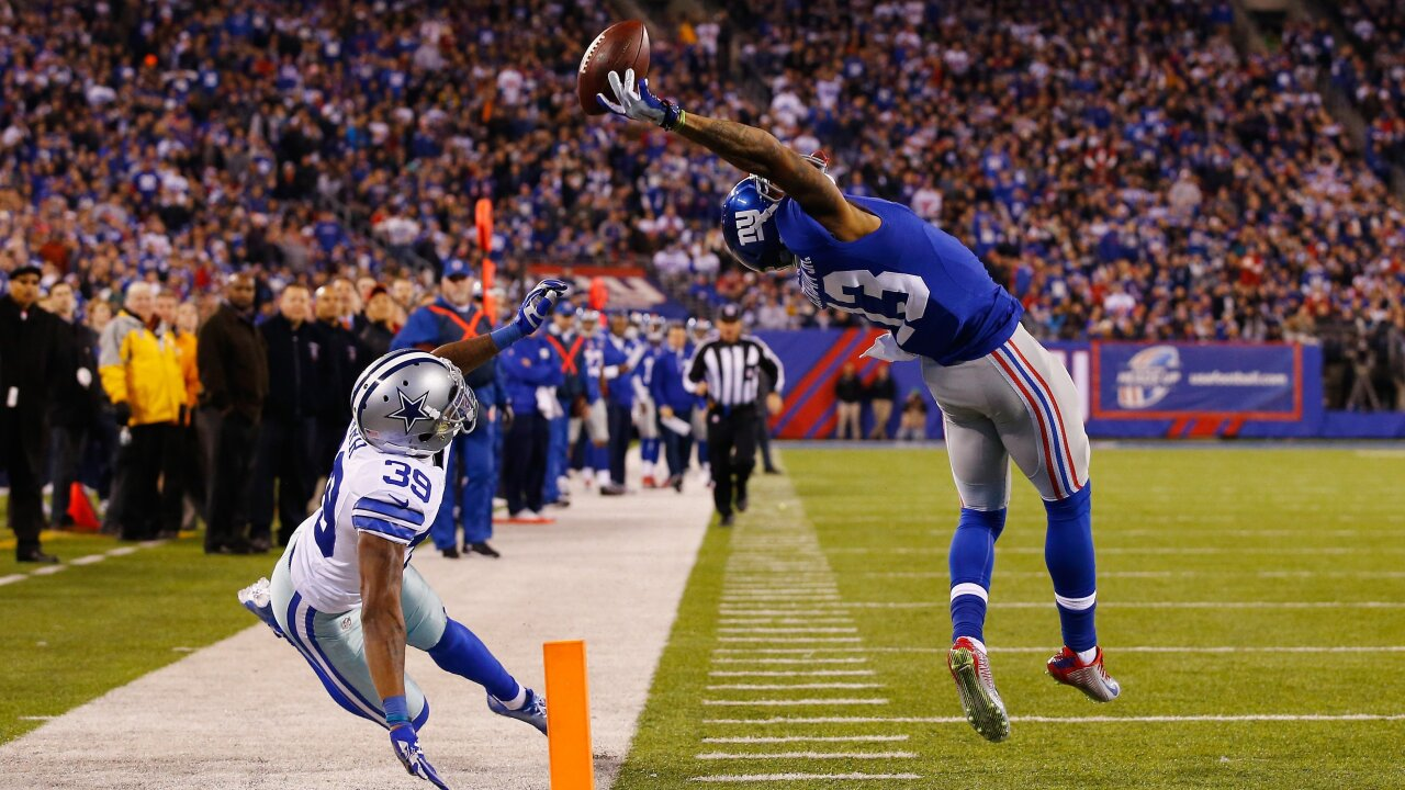 best sneakers d5edf 5b719 New York Giants trading WR Odell Beckham Jr. to the ...