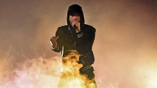 Eminem drops surprise album, advocates changes to gunlaws