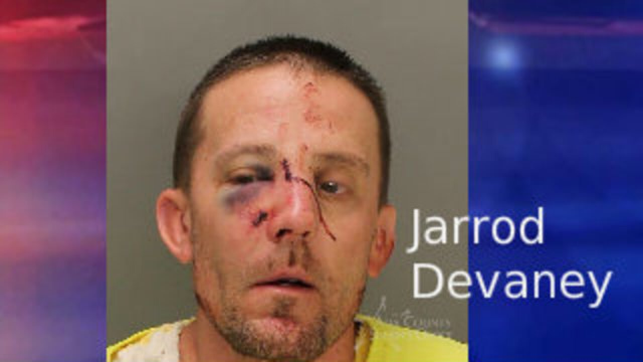 Two arrested after fight with Meridian Police