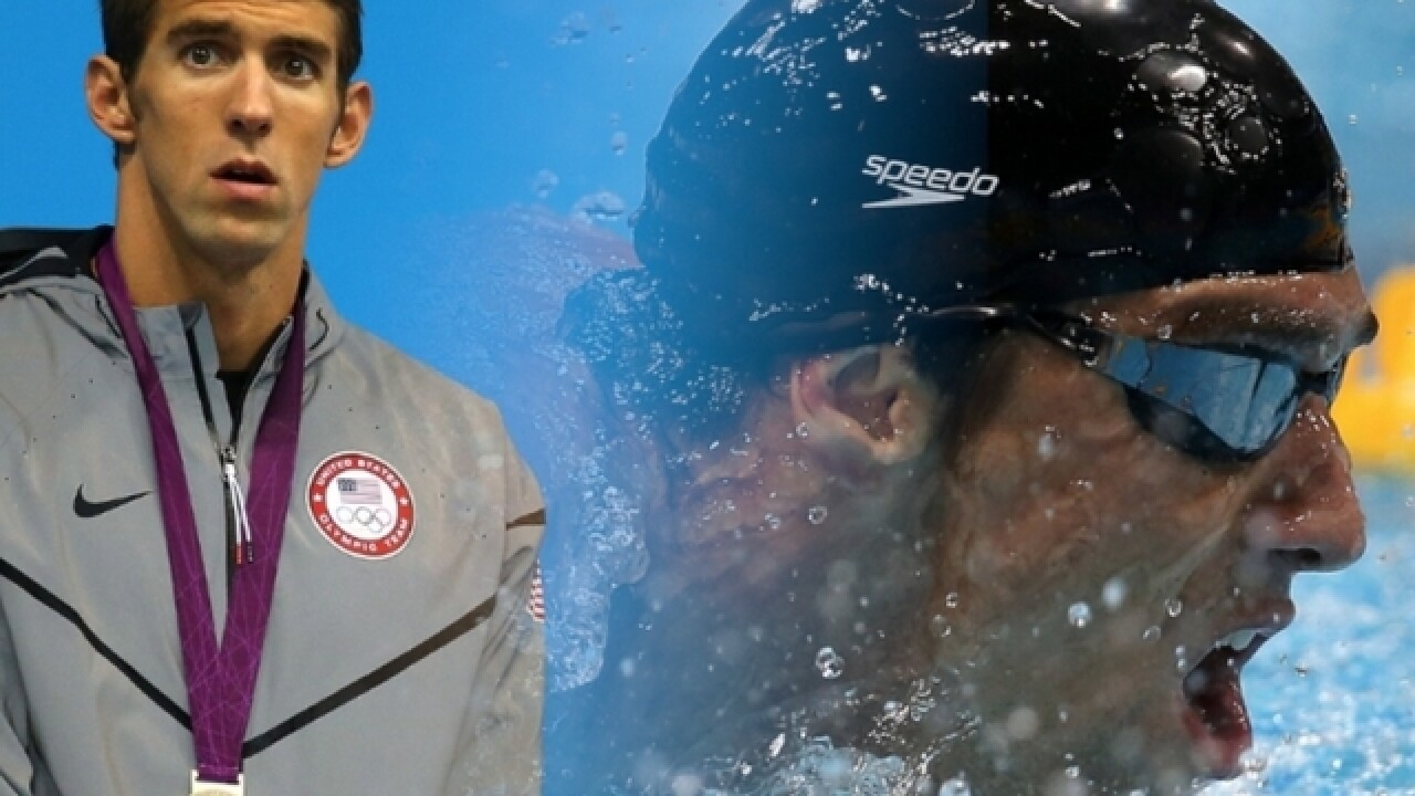 Olympian Michael Phelps will be this year's celebrity guest at U.S. Venture Open