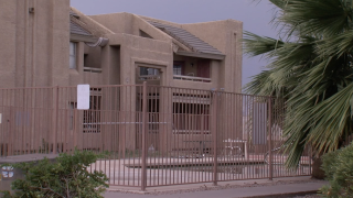 Silverwood Apartment complex in Tempe
