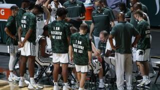 E Michigan Michigan St Basketball