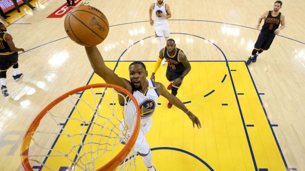 Kevin Durant delivers title to Golden State; LeBron James misses out on championship