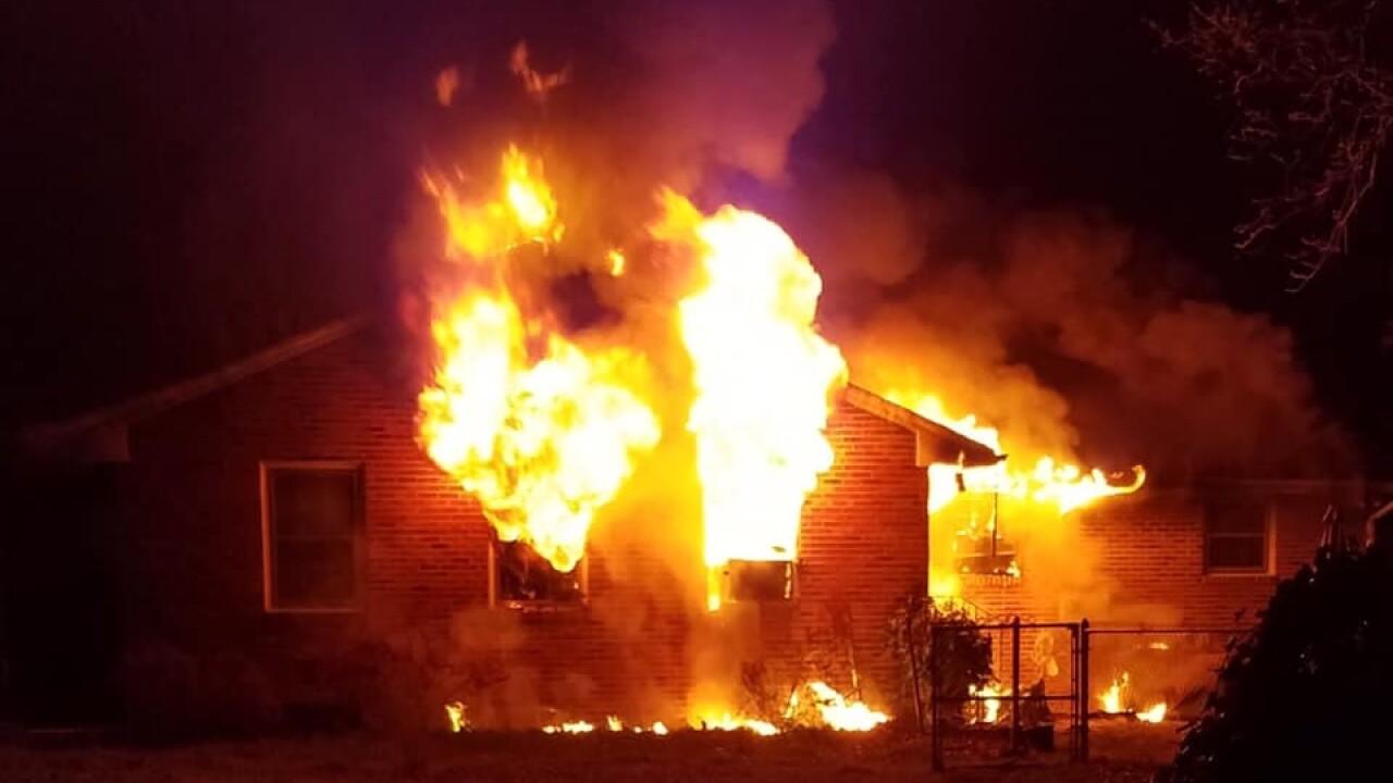54-year-old man killed, woman burned in Spotsylvania housefire