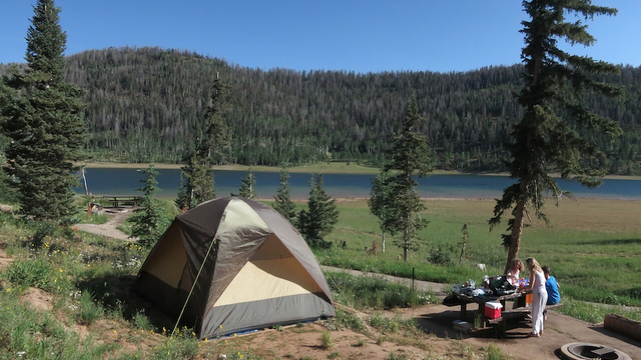 Campsites available for Memorial weekend