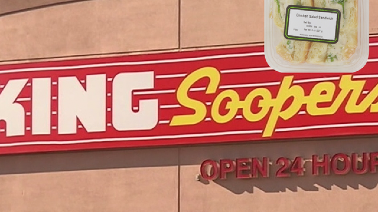 King Soopers recalls chicken salad sandwiches over possible listeria contamination