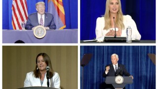 Arizona's had a big week when it comes to prominent Republicans passing through. Thursday, America's Second Lady made a visit to Tucson.