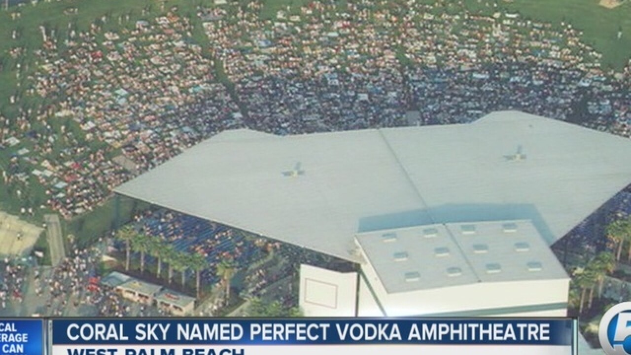 Perfect Vodka Amphitheatre is changing its name as the venue looks for a sponsor