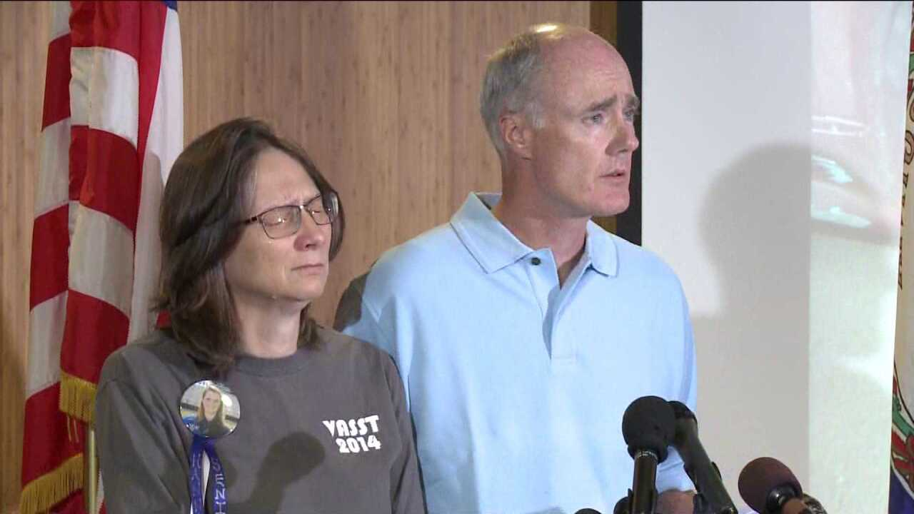 Hannah Graham's parents say she left her 'guardian angel' at home before returning to UVa.