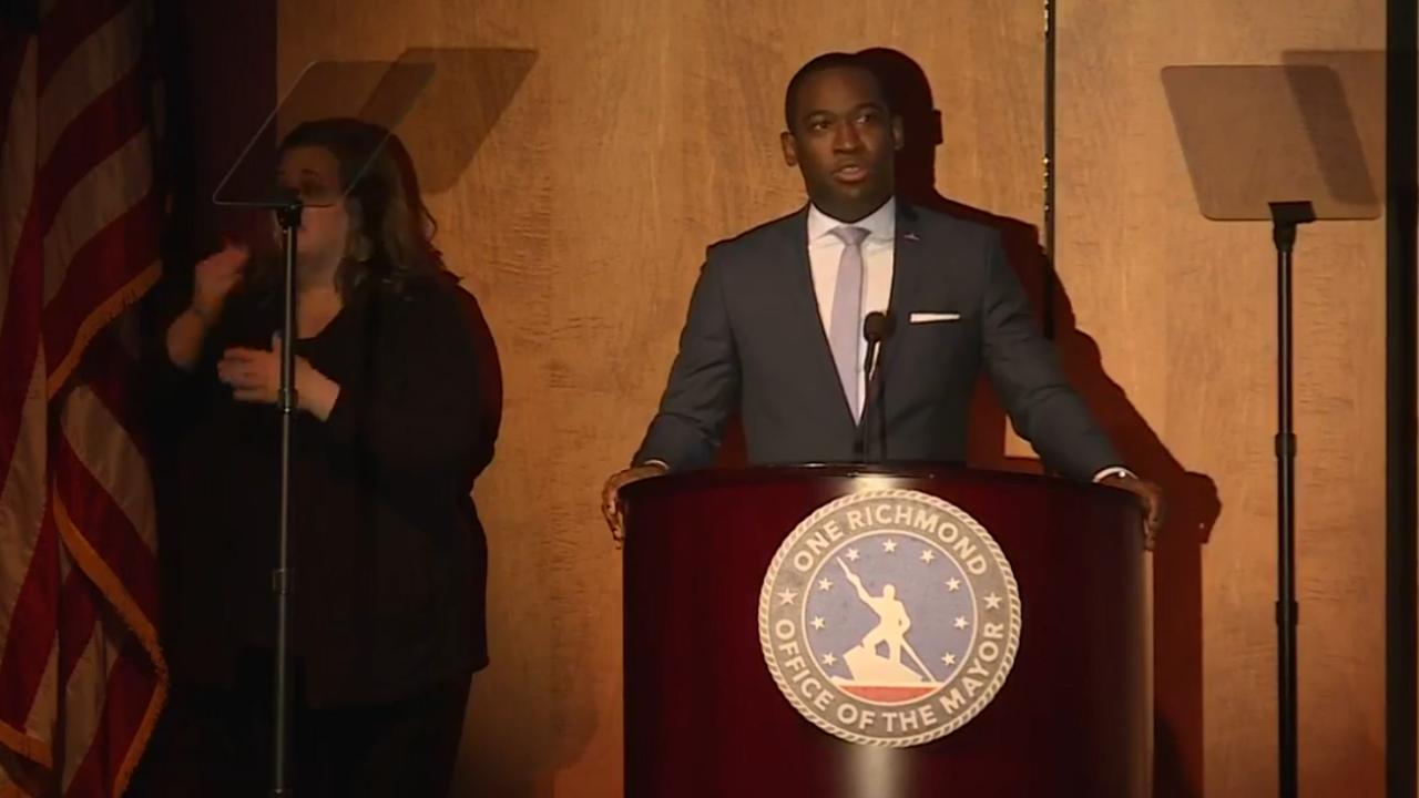 WATCH: Richmond Mayor Stoney delivers 'State of the City'Address