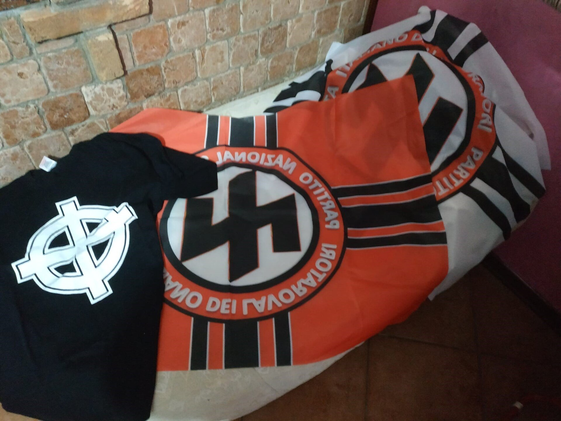 Photos: Police raids in Italy uncover weapons, propaganda and suspects who wanted to create an 'openly pro-Nazi'party