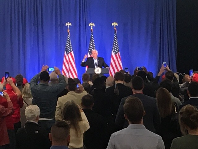 PHOTOS: VP Mike Pence speaks at Right Track Results Tour event in Indianapolis