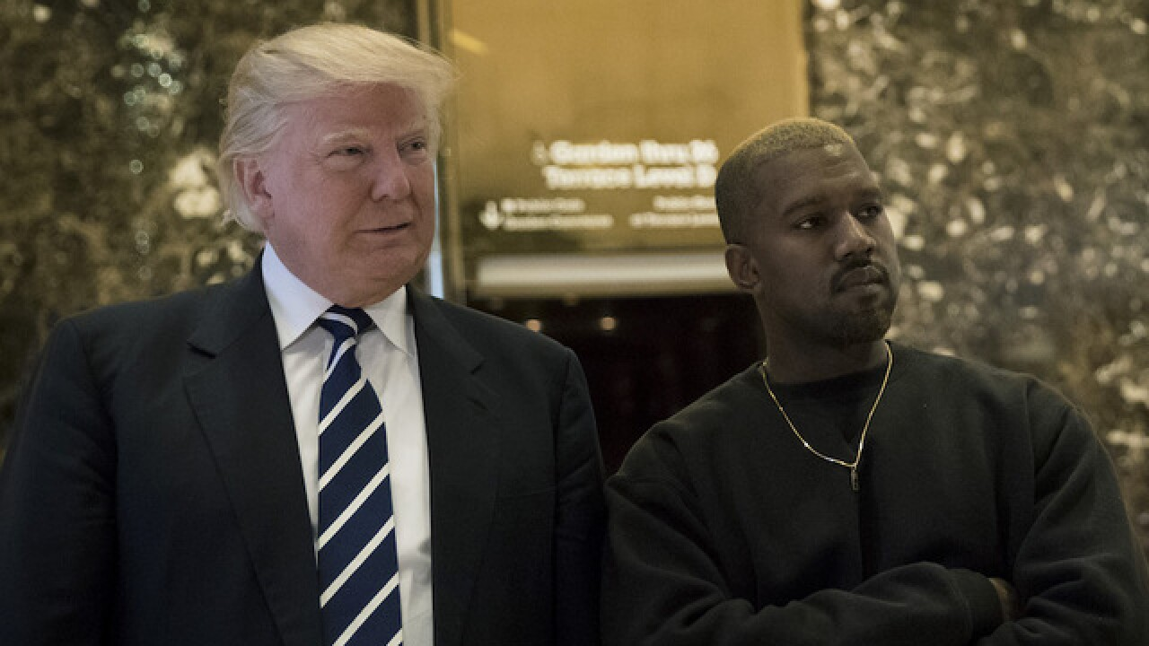 Busy day: Donald Trump meets with Kanye West, Jim Brown, Ray Lewis and Bill Gates
