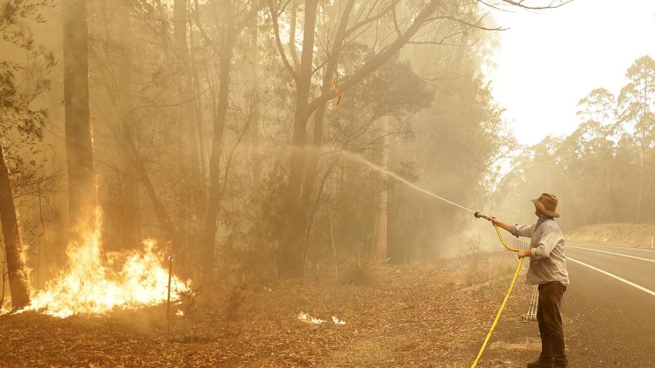 Weather raises Australia's fire danger