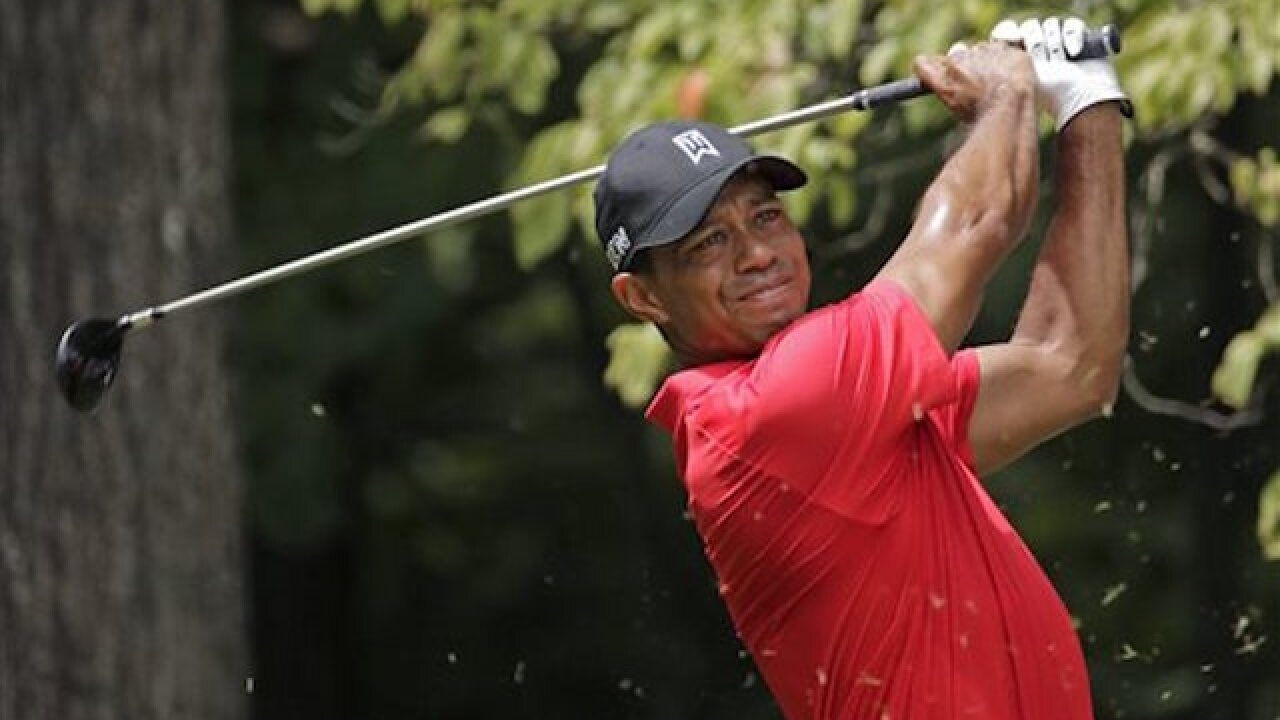 Tiger says he is 'progressing nicely'