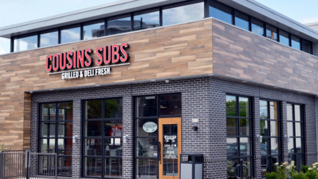 Cousins Subs to open 40 locations in the Chicagoland area
