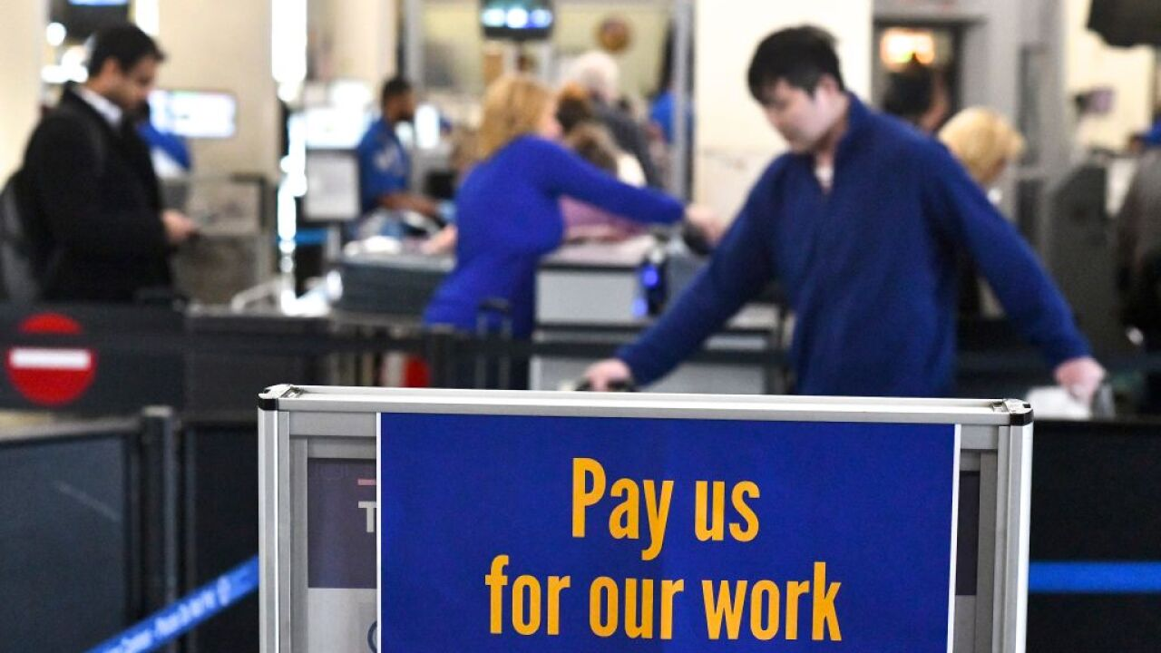 TSA employees still owed back pay from shutdown
