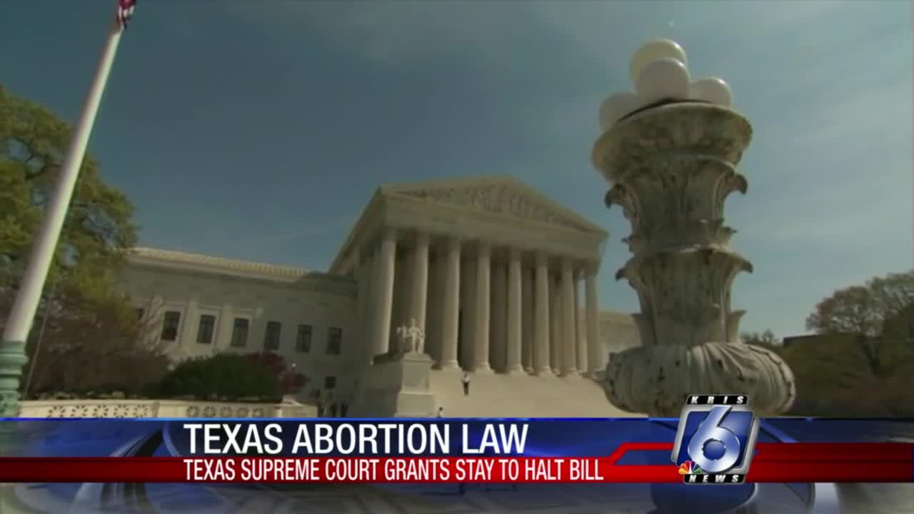 """Texas court stays controversial """"heartbeat"""" abortion bill"""