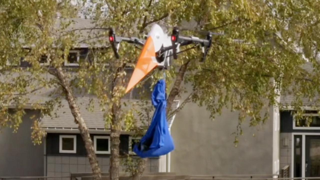 Drone stork