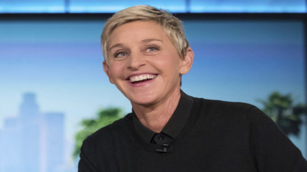 Ellen DeGeneres Debuted A Sleek New Hairstyle