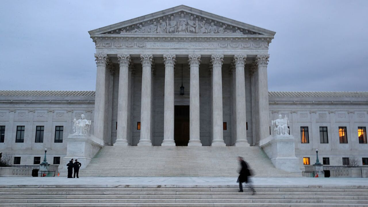Supreme Court leaves intact block on Indiana abortion restriction