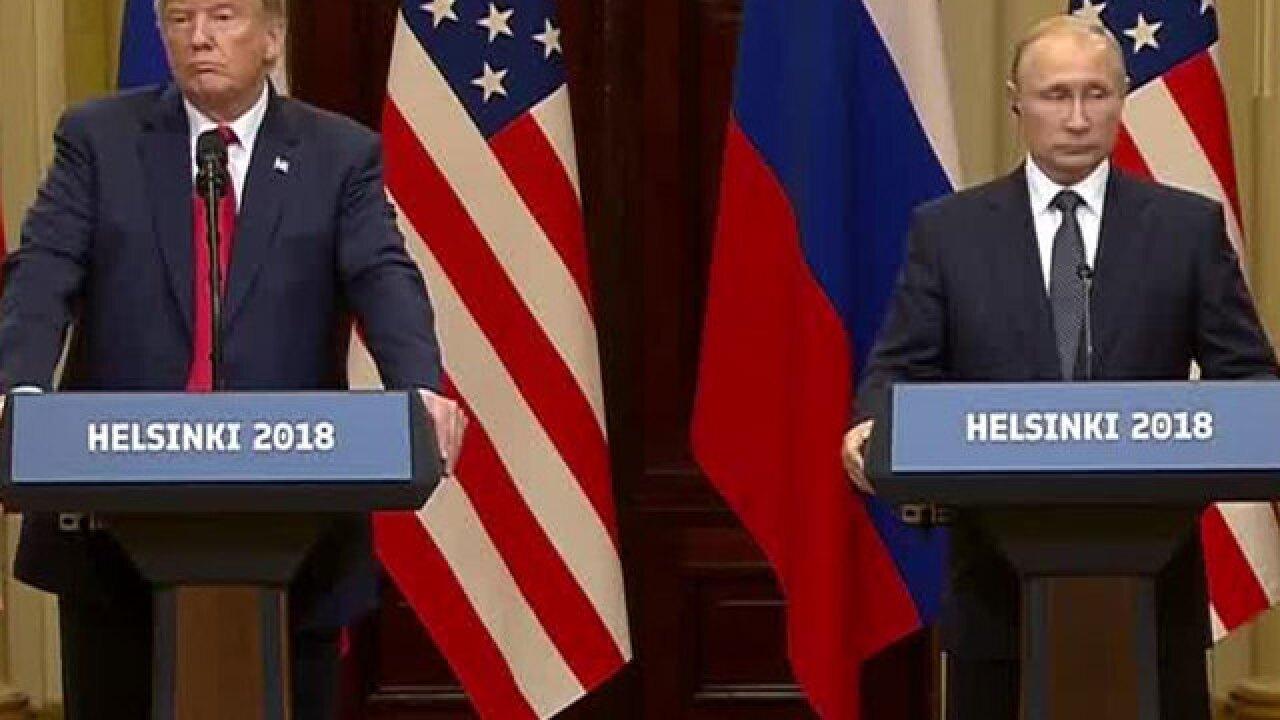 LIVE: President Trump, Putin meet in Finland