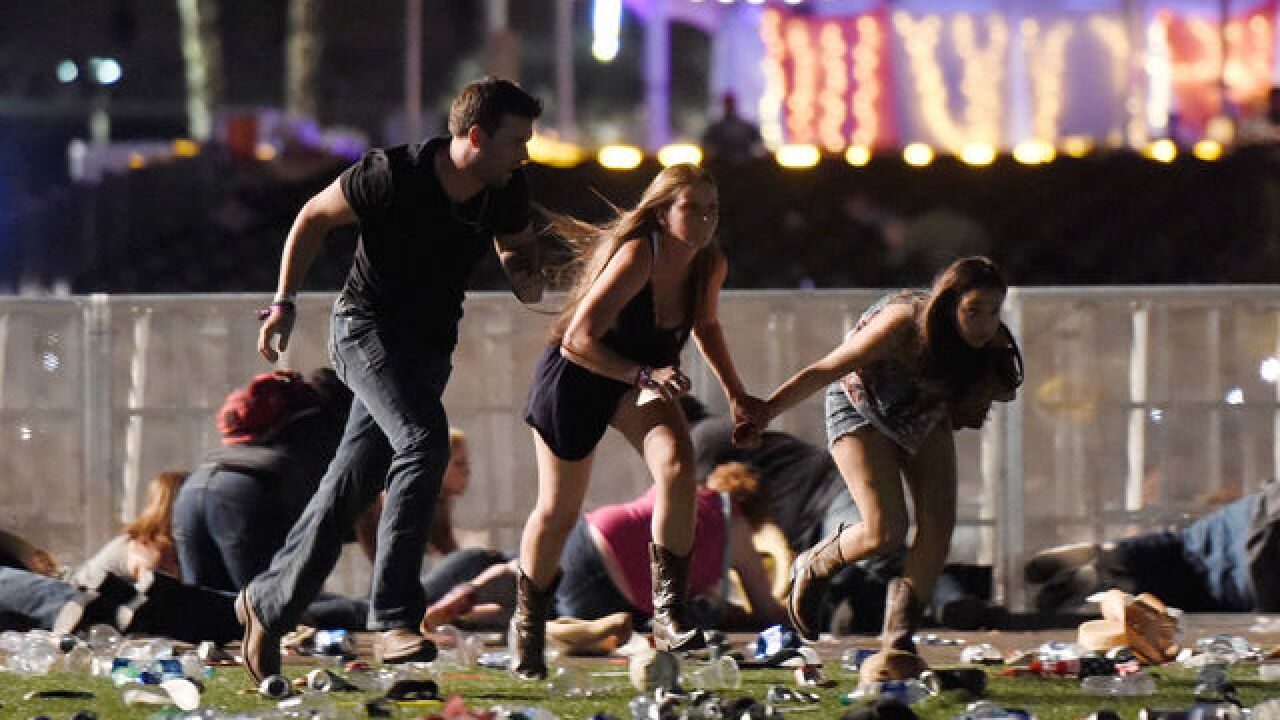 At least 20 dead after Las Vegas shooting