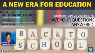 REBOUND AZ : A New Era for Education | A live Q&A with TUSD Superintendent Dr. Gabriel Trujillo and others