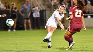 Soccer Lights Up Scoreboard Against Boston College to Begin ACC Play