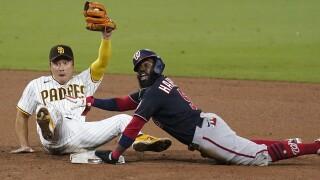 APTOPIX Nationals Padres Baseball