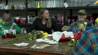 West Mont Flower staff stays busy ahead of Valentine's Day