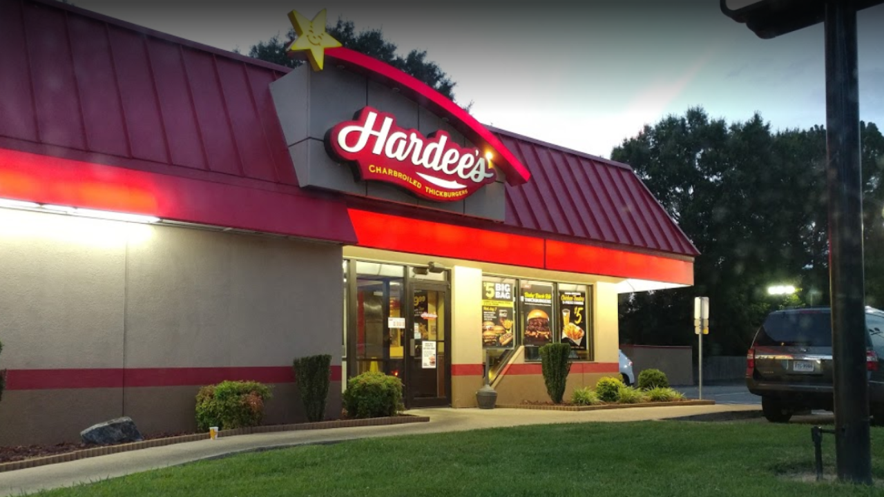 Police search for armed Hardees robber