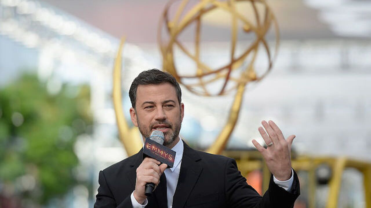 Comedian Jimmy Kimmel seeks to end war of words with Fox News' Sean Hannity