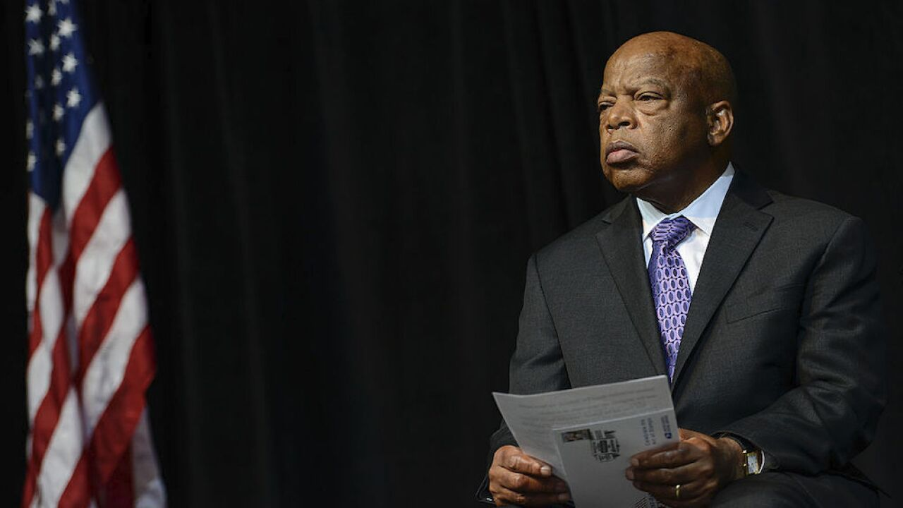Rep. John Lewis to lie in state at US Capitol later today